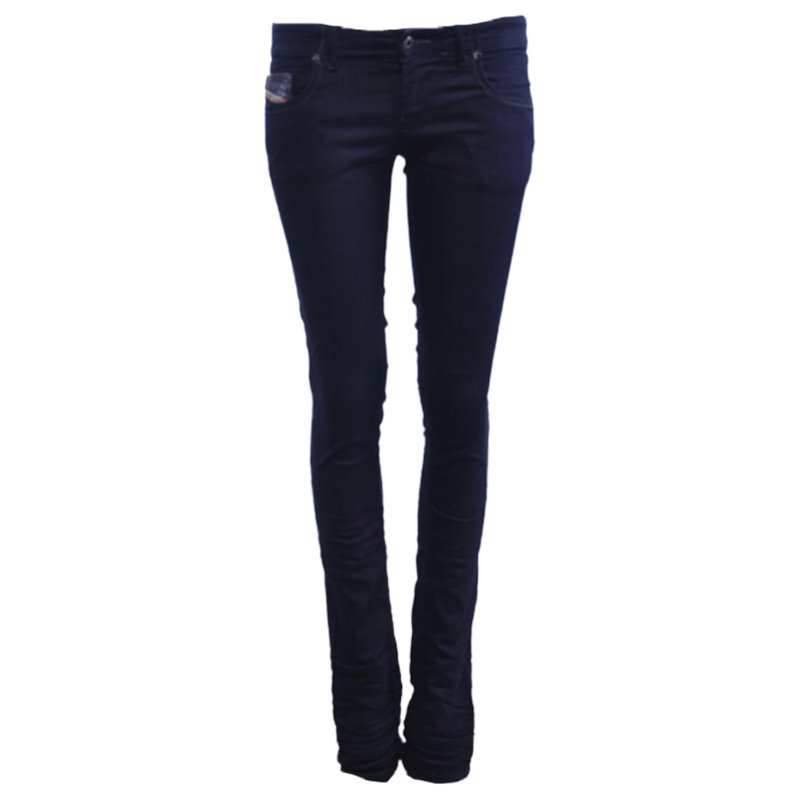 diesel grupee ne 0600v womens denim jeans sweat jogg jeans stretch slim skinny
