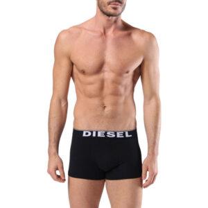 diesel umbx kory 0jkka mens boxer shorts black 1x pack stretch underwear trunks