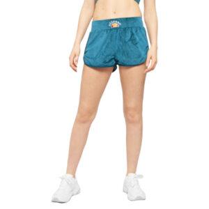 ellesse giacinta womens shorts summer sports velour lounge casual blue beachwear