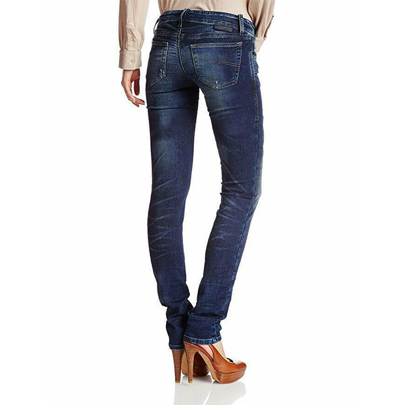 diesel grupee ne 0607u womens denim sweat jogg jeans super slim skinny