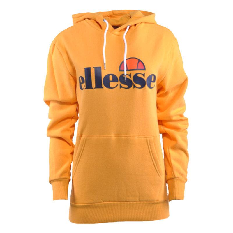 ellesse torices oh sgc03244 womens hoody pullover sweatshirt dark yellow hoodie