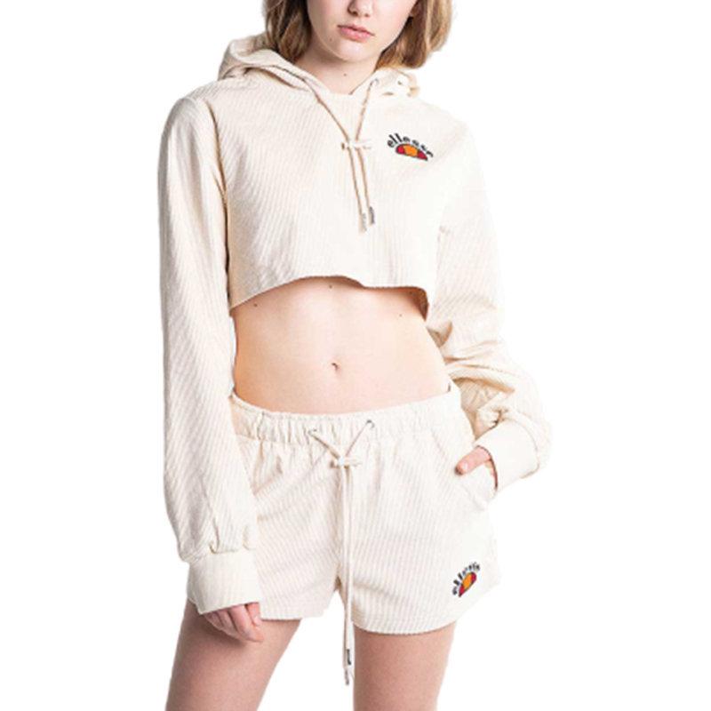ellesse jasmine sga06287 womens cropped hoodie sweatshirt tunic top cord blouses