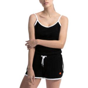 ellesse loron playsuit womens jumpsuit beachwear summer sports black active wear