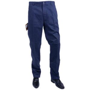 farah classic fabs5079 ny navy 454 mens trousers flat straight navy cotton twill