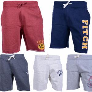 abercrombie & fitch mens fleece shorts casual summer beachwear jogger shorts
