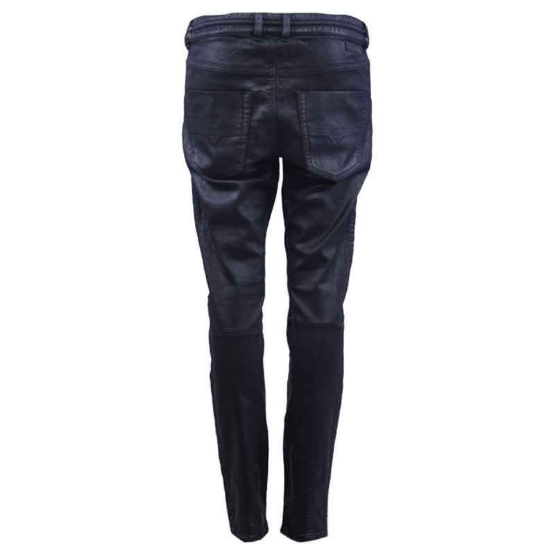 diesel krailey sp ne 0849r womens denim jogg jeans slim fit skinny sweat pant
