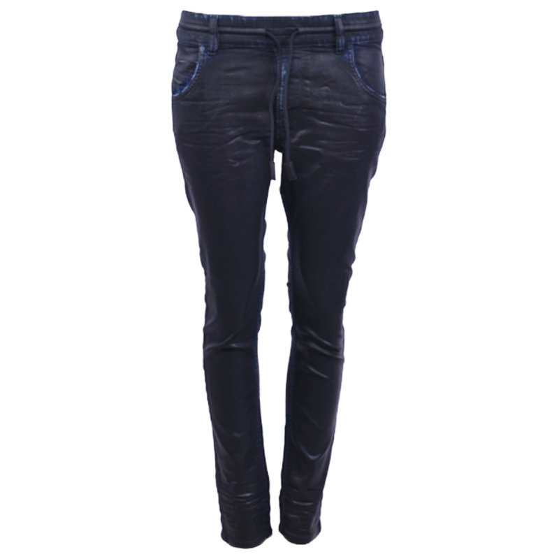 diesel krailey r ne 0680m womens denim jogg jeans regular slim carrot sweat pant