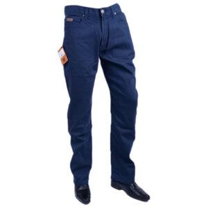 farah classic fabf4018 ny navy 454 mens trousers flat straight navy cotton twill