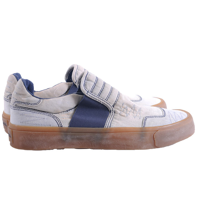 diesel s flip on mens trainers casual denim loafer eu 44 running sneakers rp-160