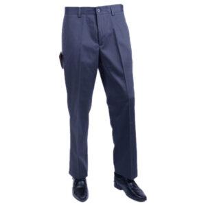 farah classic ffsb0122 navy 417 mens trousers flat front straight cut cotton