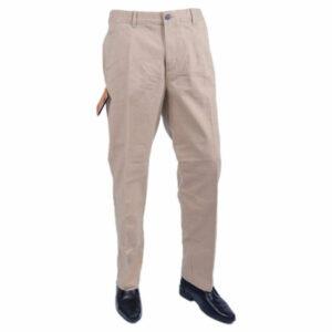 farah classic fabs5079gp mid beige 262 mens trousers flat straight  cotton twill