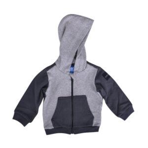 adidas kids hoodie baby boy hoodie full sleeve hoody sweatshirt grey 3 - 6 month