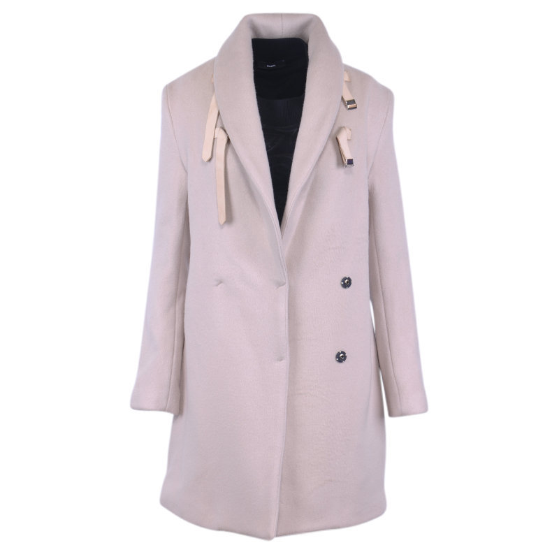 costume national factory cappotto womens waistcoat breasted overcoat trench coat
