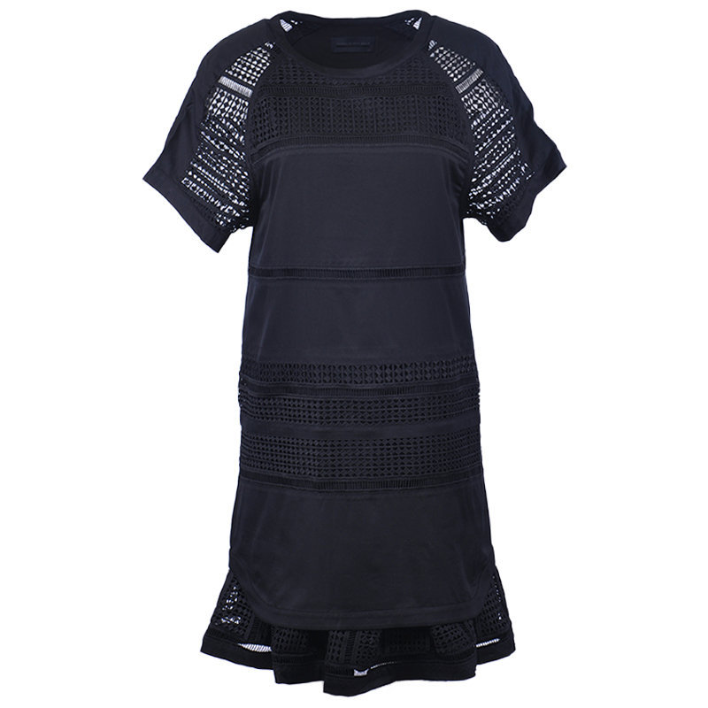 diesel black gold dazen bgmbg 900 women dress black short sleeve party wear maxi