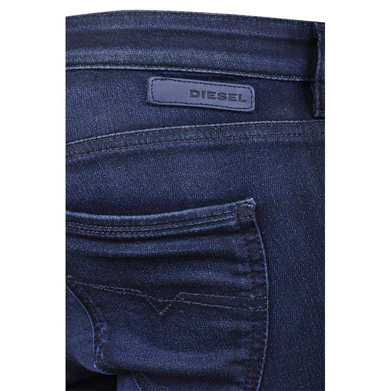 diesel doris ne 0665z womens sweat jeans jogg denim pant trouser made in italy