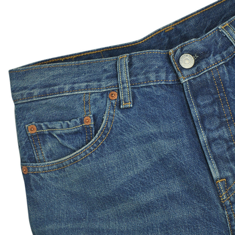 levi's 501 ct mens denim jeans levi stretch slim casual medium blue levis plants