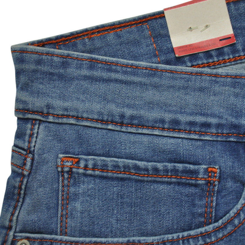 levi's 721 womens denim jeans levi high rise slim distressed plain stretch pant