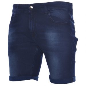 ruf & tuf mens denim jeans shorts stretch cotton summer casual beachwear shorts