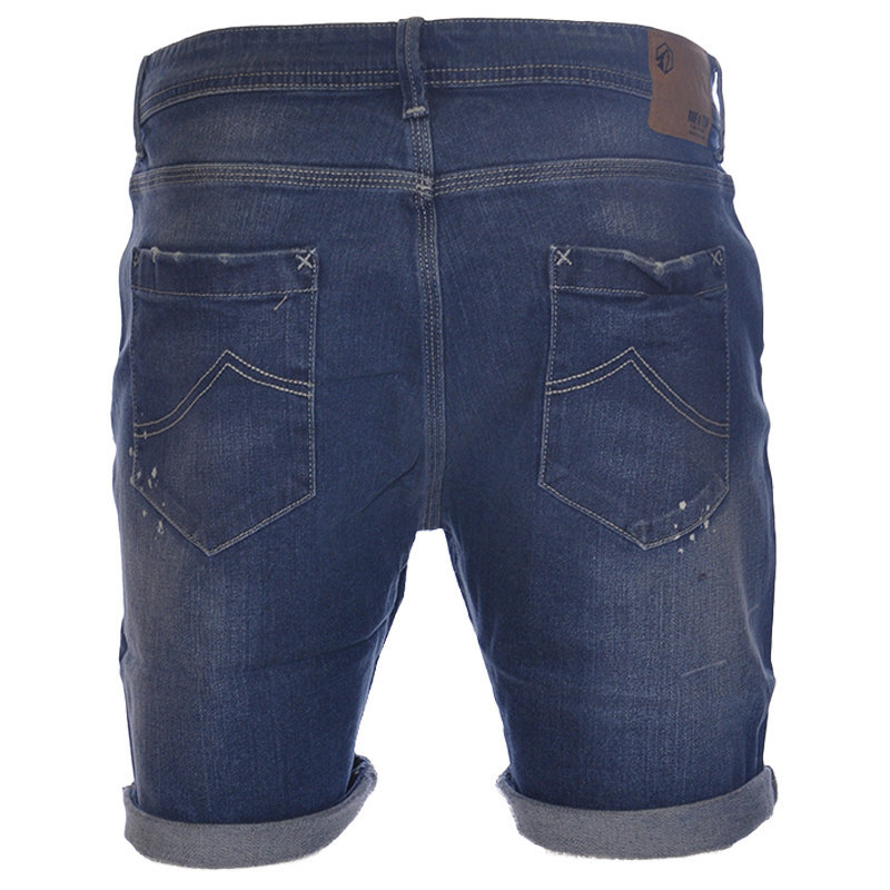 ruf & tuf mens denim shorts casual designer shorts beachwear jeans summer shorts