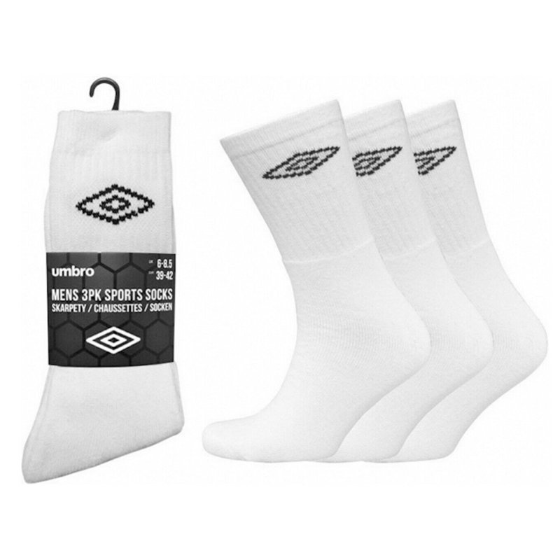 umbro mens socks 3 pairs womens boots multi pack mid calf unisex sports socks
