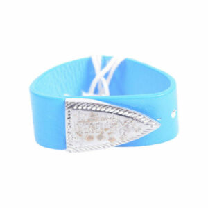 diesel ahes 0wacm unisex bracelets genuine leather womens blue wristband italy
