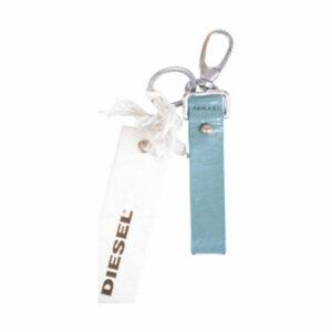 diesel anibo unisex keyring genuine leather vintage fob hook key holder italy