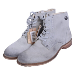diesel roger mens desert boots genuine suede leather high neck casual boots grey