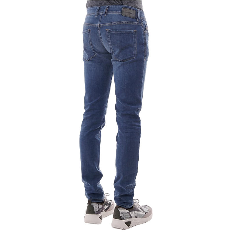 diesel sleenker 084rv mens denim jeans stretch denim blue slim skinny jeans blue