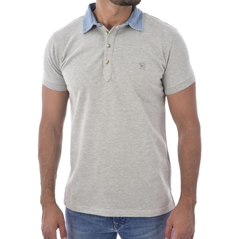 diesel t fri 0sahv mens polo shirt classic golf t-shirt casual tee cotton