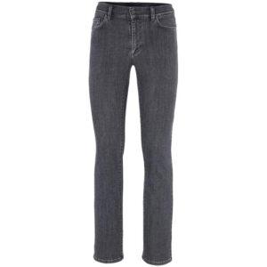 versace collection v600367s mens denim jeans regular fit trouser dark grey pants