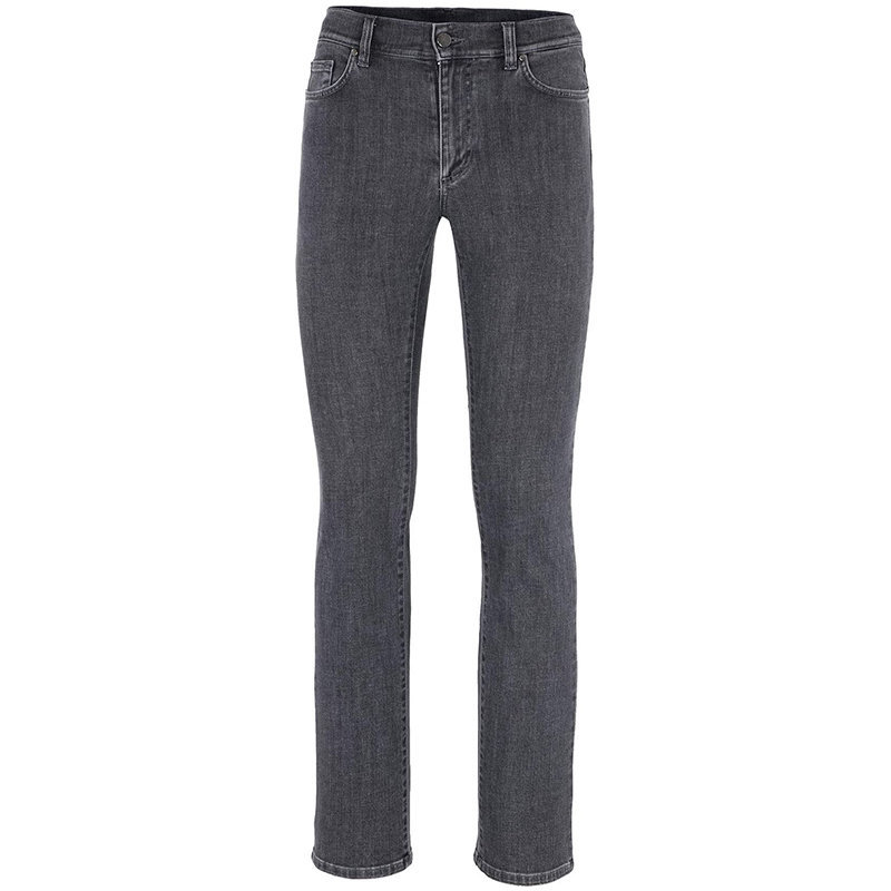 versace collection v600367s mens denim jeans regular fit trouser dark grey pants