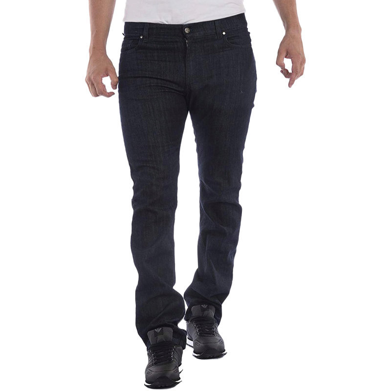 versace collection v600367s mens denim jeans regular fit trouser casual pants