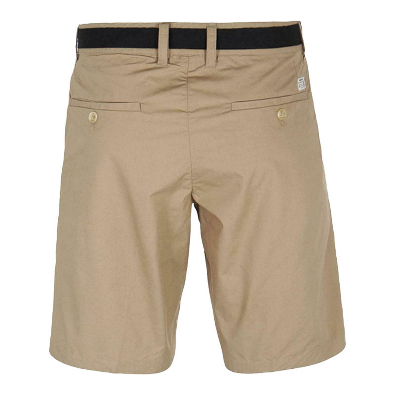 diesel chi drive 0ia0e 79e mens chino shorts loose fit brown khakis casual pants