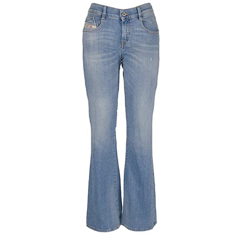 diesel d ebbey 086aw womens denim jeans casual pants stretchable bootcut jeans