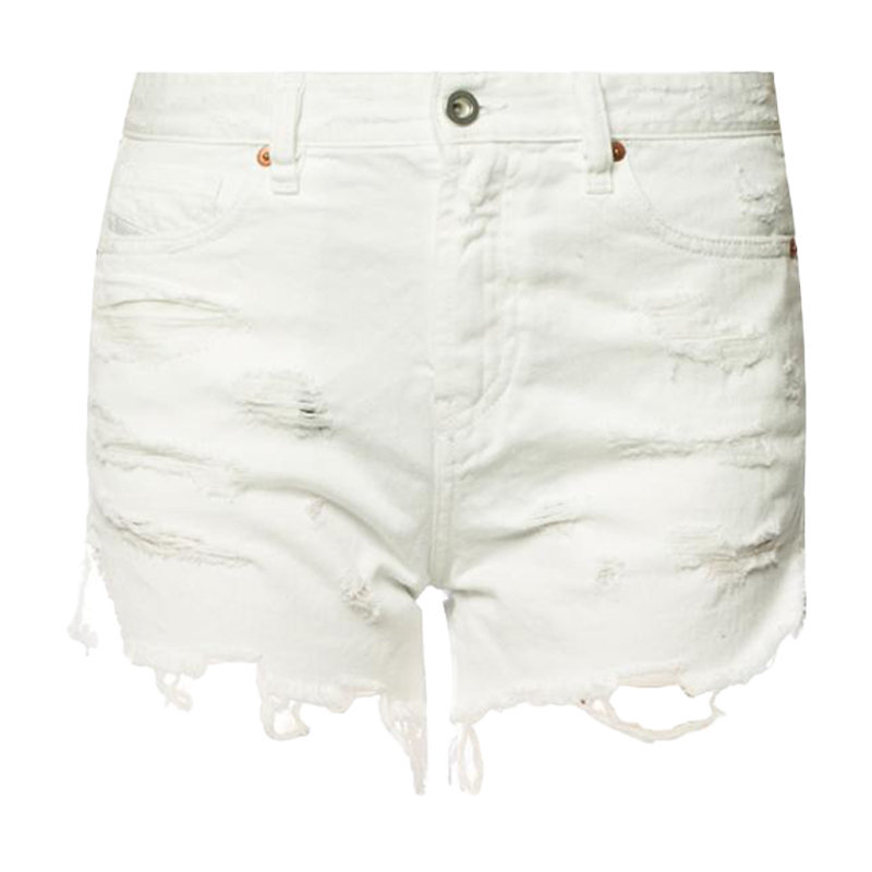 diesel de telve womens denim shorts high waisted hot pants summer sexy shorts