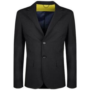 diesel j vegas mens blazer 2x button slim fit casual single breasted coat black