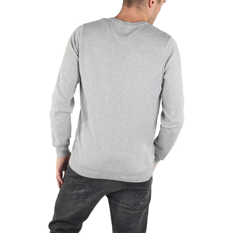diesel k bentinew mens cardigan long sleeve v neck knitwear pullover grey jumper