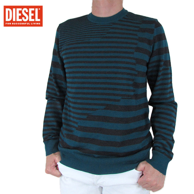diesel k stakx nopatch mens sweatshirts cotton crew neck pullover jumper italy