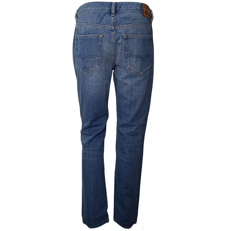 diesel livier 0685w womens denim jeans casual pant regular slim straight trouser