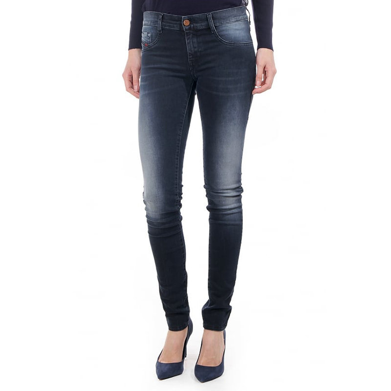 diesel livier 0685w womens denim jeans casual pants slim jeggings faded trousers