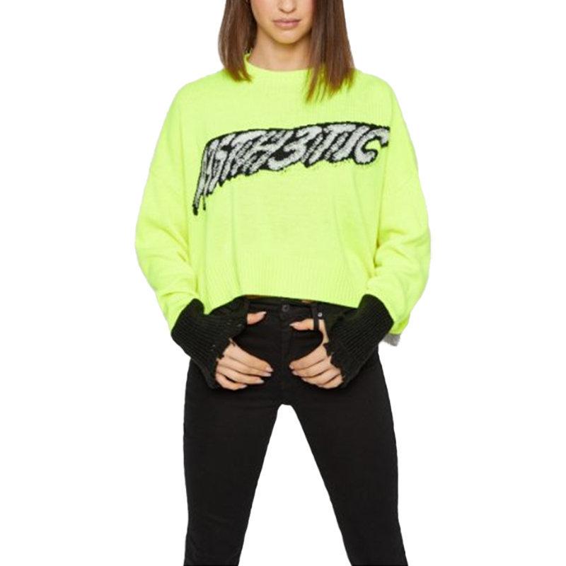 diesel m ticx womens sweatshirt long sleeve ladies pullover wool knitwear green
