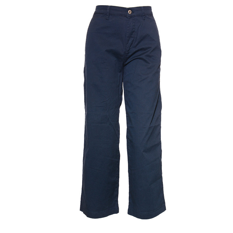 diesel r eloise reapm 89d womens pant trouser loose fit causal pants navy chinos