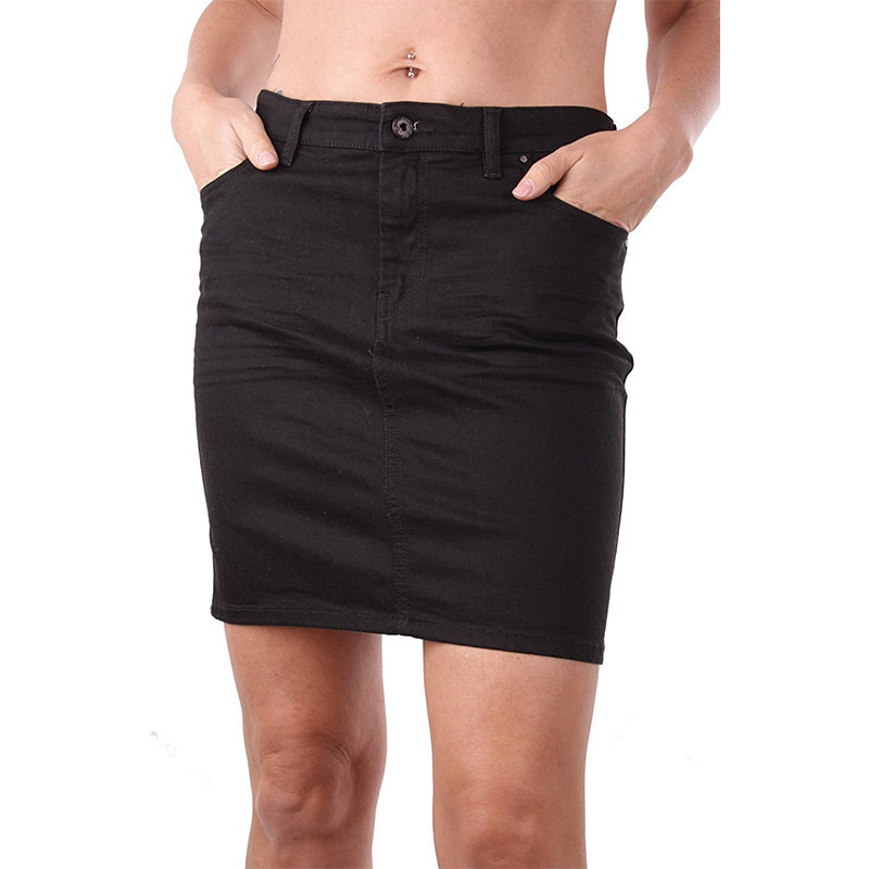 diesel r modung rhlpa womens denim jeans skirt black bodycon tube pencil shorts
