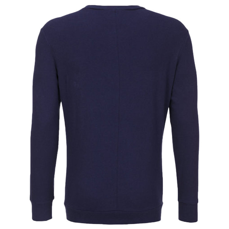 diesel s dant new logo mens sweatshirt cotton crew neck pullover blue jumper