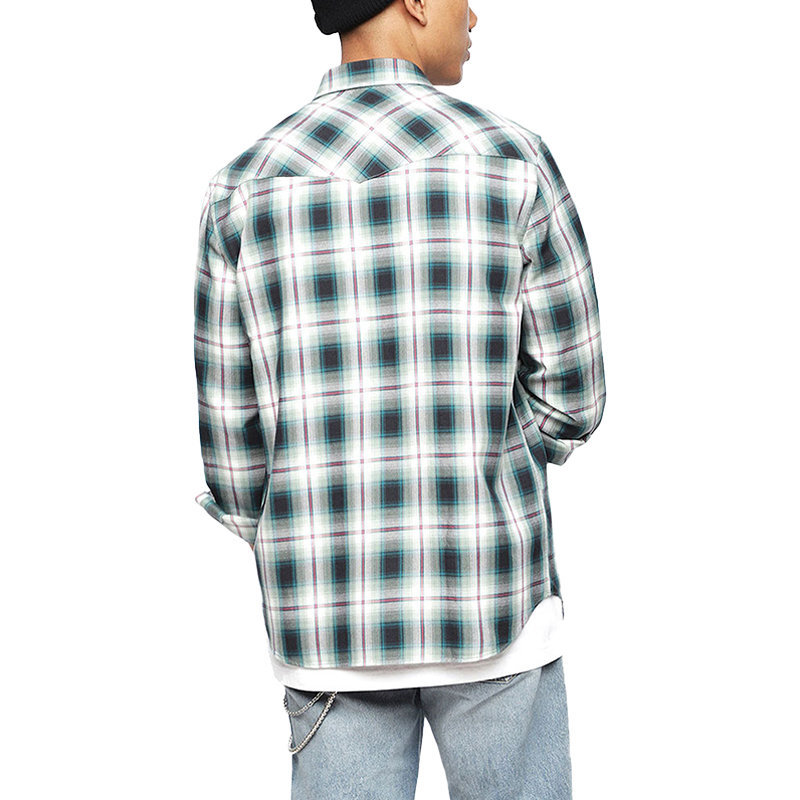 diesel s east long a mens shirt buffalo check cotton long sleeve casual shirts
