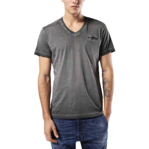 diesel t diego pearls 900 mens t-shirt v neck short sleeve tee casual cotton top
