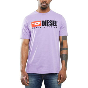 diesel t just division mens t-shirt short sleeve crew neck tee casual summer top