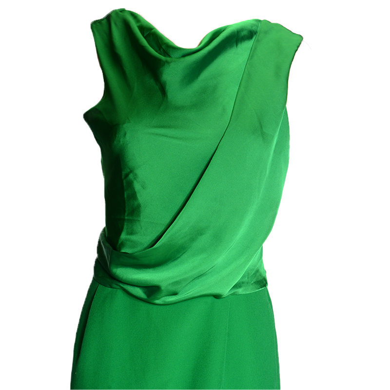 emporio armani u2a17t womens dress sleeveless summer casual party wear green top