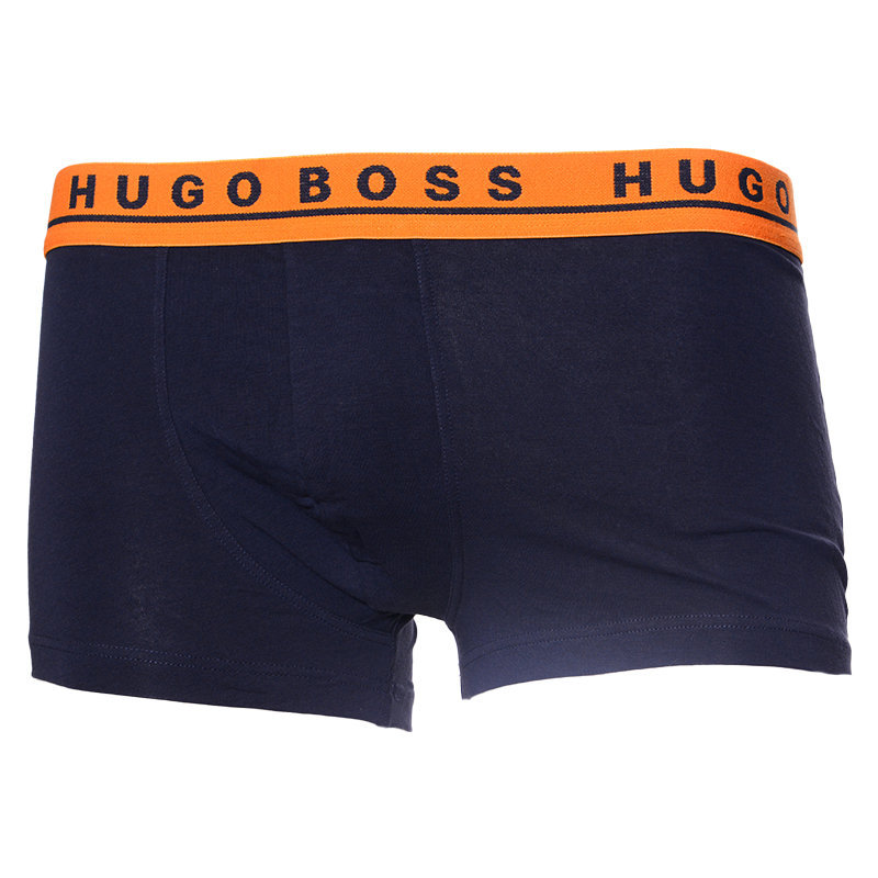 hugo boss mens boxers 2x pack breathable stretch cotton trunks brand waistbands