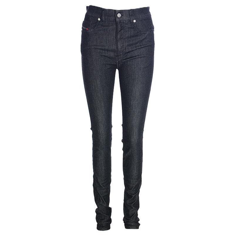 diesel d reeft t 0077s  womens denim jogg jeans slim skinny fit trousers italy